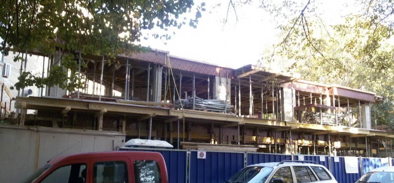 Апартхотел строеж сграда